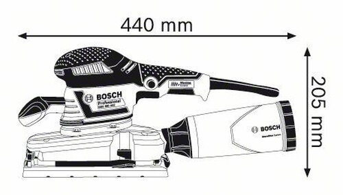 Bosch GSS 280 AVE Professional #2