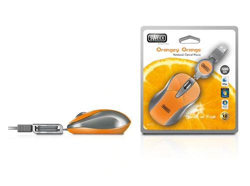 Sweex Notebook Orangey Orange USB MI153 #4