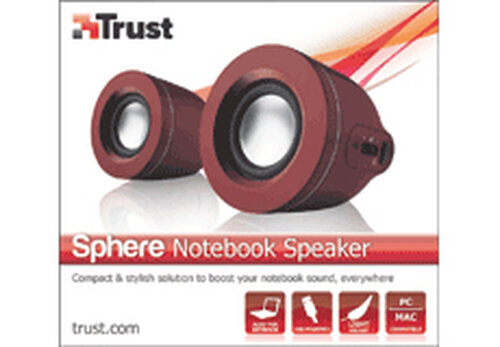 Trust Sphere Notebook Speaker - 4
