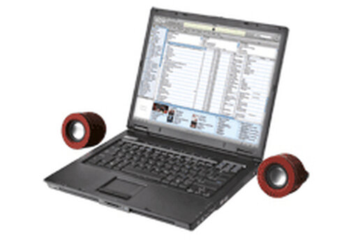 Trust Sphere Notebook Speaker - 1