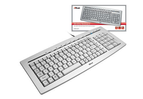 Trust Slimline Keyboard - 4