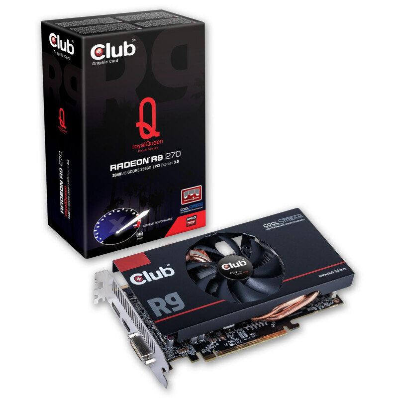 CLUB3D Radeon R9 270 royalQueen #1
